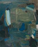 Composition Bleue - Shafic Abboud